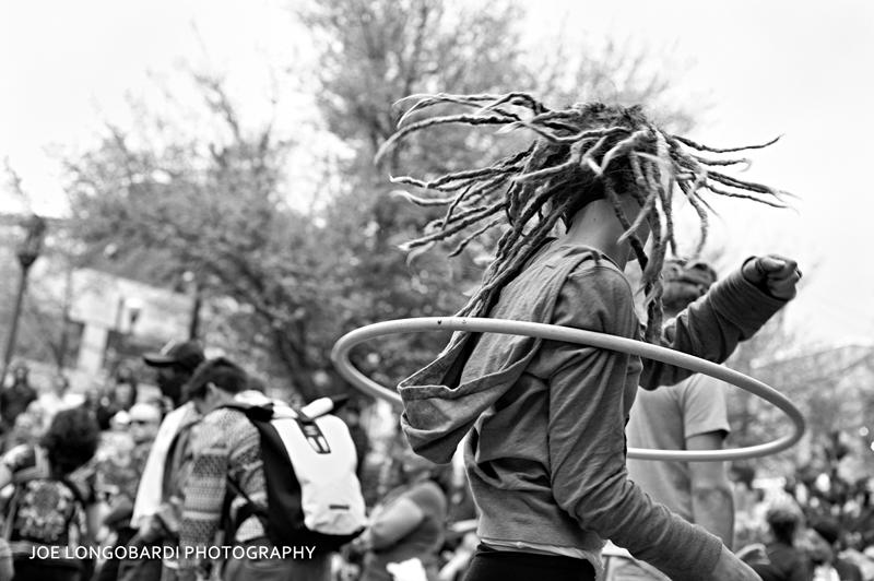 Hula Hoop in Pritchard Park