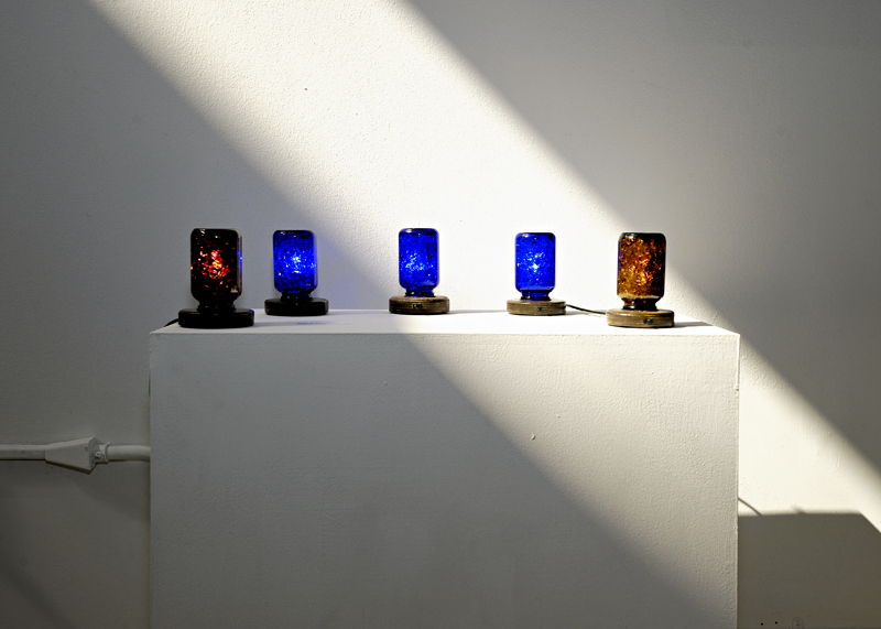 There is a light that shines for everyone. Light sculptures by Robert Ransom.